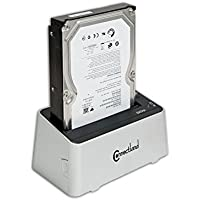 Simply Silver - Details about Connectland USB 3.0 Docking Station for 2.5/3.5 SATA2 HDD JMB551 Chipset