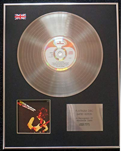 - Century Presentations - Steve Miller Band - Limited Edition CD Platinum LP Disc - Fly Like an Eagle