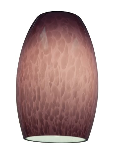 Chianti - Pendant Glass Shade - Purple Cloud Glass Finish ()