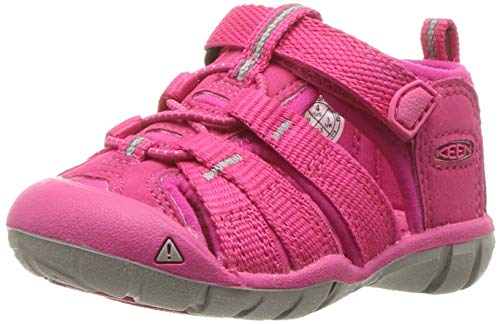 KEEN Baby Seacamp II CNX Water Shoe, hot Pink, 4 M US Toddler
