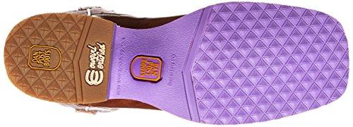 Dan Post Womens Serrano Western Boot Tan / Purple