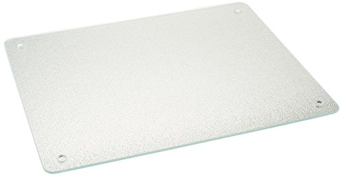 Vance 15 X 12 inch Clear Surface Saver Tempered Glass Cutting Board, - Cutting Glass Saver Surface Board