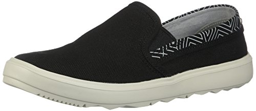 Town Donna In Mocassino Merrell Merrellaround Tela Black Moc Around Canvas City Aa54xp