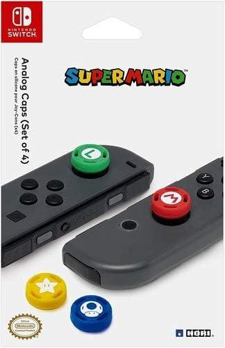 Set de 4 grips para Control Nintendo Switch Super Mario xmp