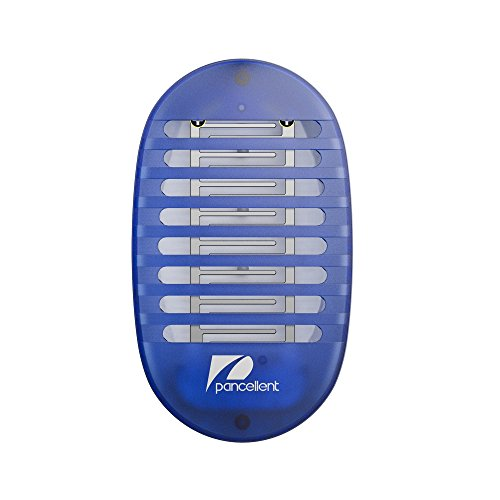 Bug Zapper Plug (Bug Zappers Pancellent Mosquito Killer Lamp Electronic Insect Killer with Night Light)