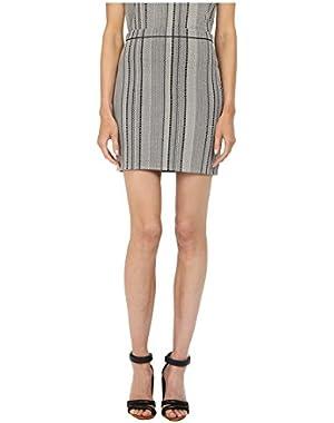 Theory Womens Nellida Matte Viscose Skirt
