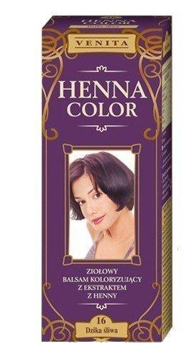 Henne Color 16 Prugna Selvatica Ciliegia Balsamo Per Capelli Colore Capelli Effetto Colore Eco Gallina Tintura Di Capelli Naturali Venita
