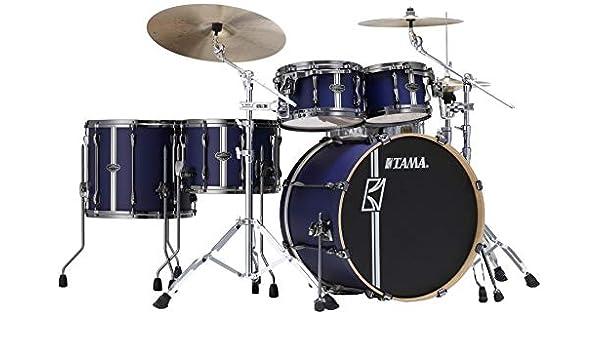 Tama Superstar HYPER-DRIVE Duo ml52hzbn2-sbv Satin Blue – Batería acústica 5 Fûts (sin caja clara): Amazon.es: Instrumentos musicales