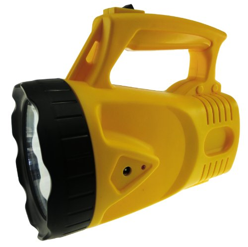 Rechargeable LED Spotlight, Model SL101 (Yellow) by TOPSCA