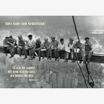 Geburtstagskarte Sw Roosevelt Zitat Amazon De Bürobedarf