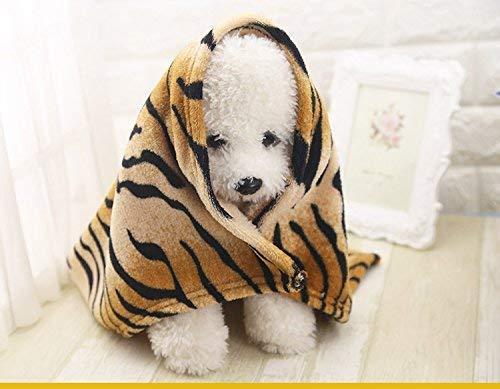 HeiPlaine Pet Sofa Soft Fleece Blanket Pet Dog Cat Mat Bed Cushion Pad Pet Bath Towel for Cat Dog,