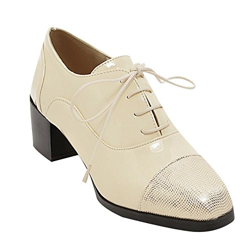 d8b73f583d06 hot sale Latasa Women s Lace up Chunky Heels Oxfords Shoes - sgacog.org