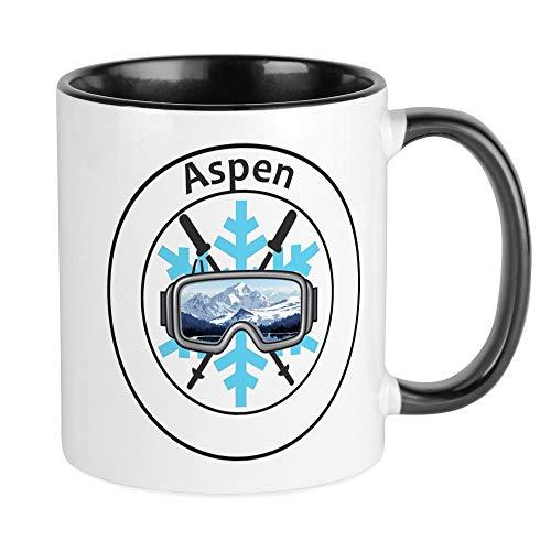 CafePress Aspen/Snowmass - Aspen And Snowmass Village Mugs Unique Coffee Mug, Coffee Cup (Snowmass Village Aspen)
