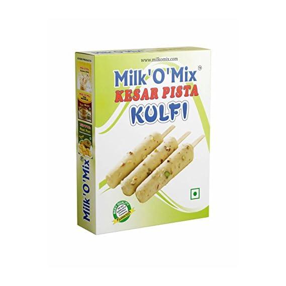 Milkomix Kesar Pista Kulfi Mix Flavored Milk Powder