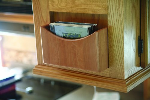 Made of Durable Wood Construction 53099 Camco Mountable Spice Rack Includes All mounting Hardware