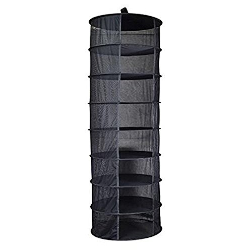 JOYOOO Hanging 8 Tier Detachable Dry Rack Hydroponic Grow Te