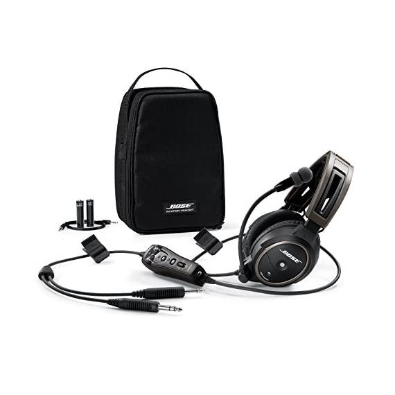 Bose A20 Aviation Headset Plug Cable 6 30% greater active noise reduction than conventional aviation headsets. Connectivity Technology: Wired 30% less clamping force than conventional aviation headsets Clear audio with active equalization