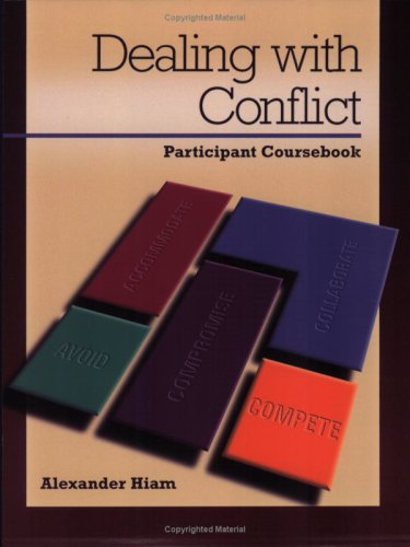 Dealing With Conflict: Conflict Resolution Styles: Participant Course Book (Packet of 5)