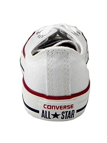 Converse Barn Chuck Taylor All Star Ox (litt Stor) Lav Optisk Hvitt