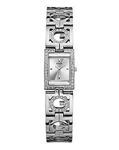 Guess Gigi W10225L1 - Reloj de mujer de cuarzo color plata