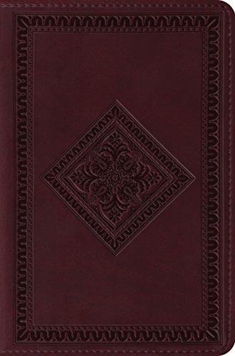 ESV Compact Bible (TruTone, Chestnut, Diamond Design) by ESV Bibles by Crossway (2009-06-04) (Esv Trutone Bible Diamond Design)