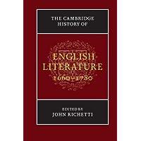 The Cambridge History of English Literature, 1660-1780 Paperback
