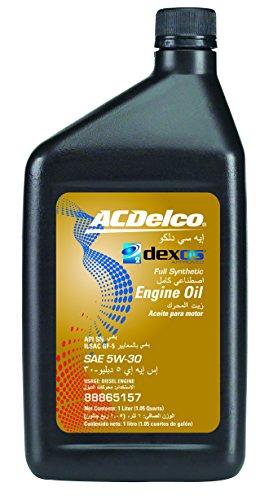 acdelco 88865157 dexos2 5w 30 motor oil 1 l buy online. Black Bedroom Furniture Sets. Home Design Ideas