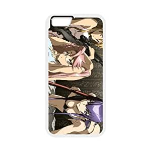 HIGHSCHOOL OF THE DEAD iPhone 6 Plus 5.5 Inch Cell Phone Case White as a gift F7917791