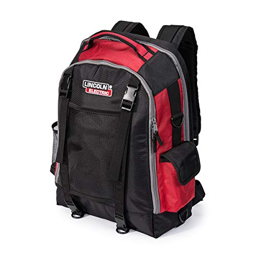Lincoln Electric Welders All-in-One Backpack | Tool, PPE and Electronics Storage | Adjustable External Storage Net | -
