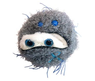 (GIANT MICROBES Prostate Cancer Plush Toy )