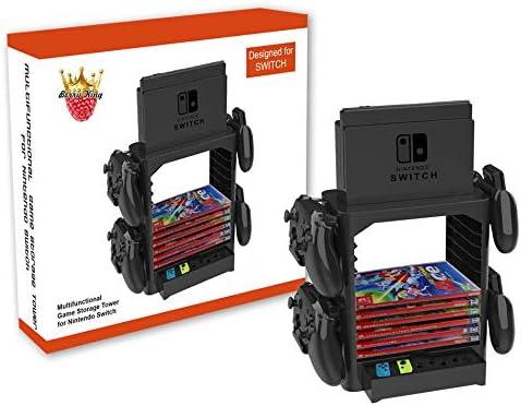 Homebase para Nintendo Switch Bases incl. Cajón, Espacio para el ...
