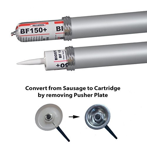 2 Pack - Sausage Caulk Gun, 20 oz Foil Pack / 10 oz Cartridge Convertible, 18:1 Thrust, AWF-Pro