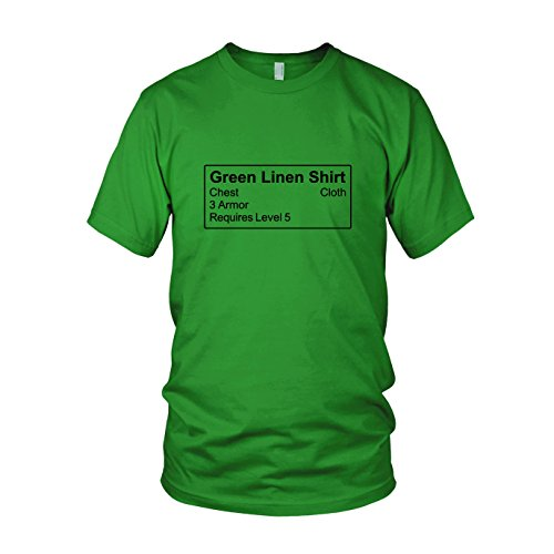 Shirt Item - Herren T-Shirt, Größe: L, Farbe: grün