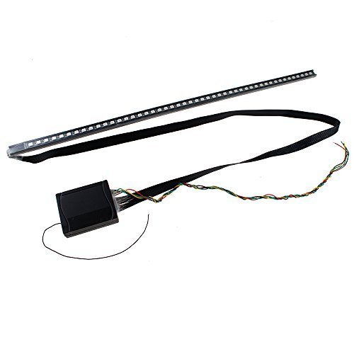 IMAGE 22-inch 56 cm 48 LED 5050 High-power Colorful LED Light Strip for Car, Super Bright Strip Kit Car Flash Strobe Light Waterproof 7 Color with Remote Controller -  CE0082-VTUS