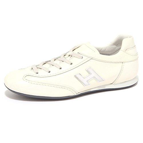sneaker donna bianco woman 1371Q OLYMPIA HOGAN Bianco scarpa shoe Aawwzvq