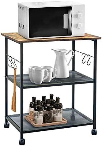 FoverOne 3-Tier Kitchen Utility Cart