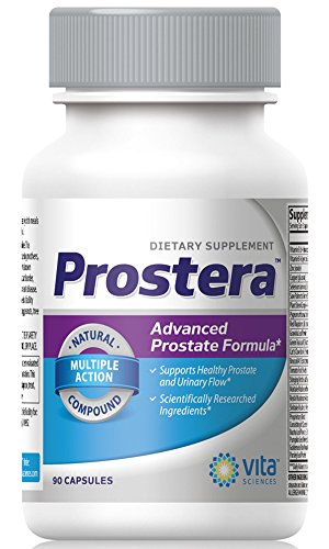 Prostera Extra Strength Prostate Formula with Beta Sitosterol, Saw Palmetto, Pygeum - Reduce Frequent Urination, Improve Flow, and Sexual Performance 90 ct.