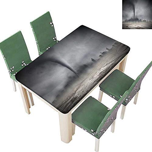 Printsonne Indoor/Outdoor Spillproof Tablecloth Image of Powerful Huge