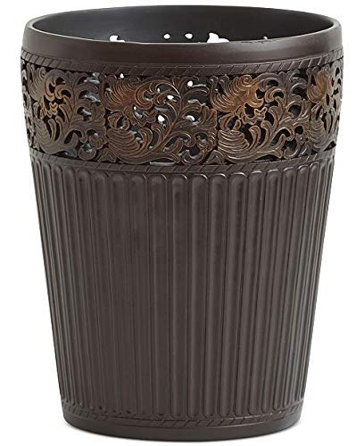 - Croscill Marrakesh Wastebasket Bronze