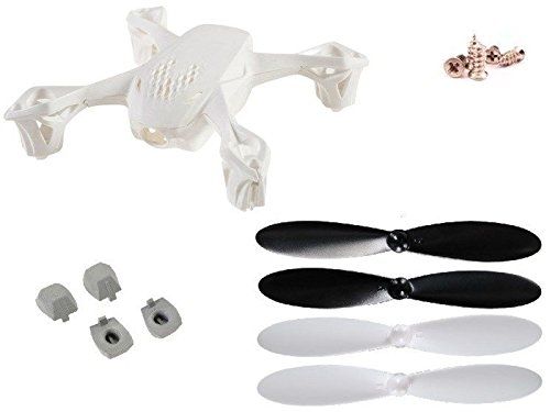 Hubsan X4 H107D FPV Frame Body X4 Shell Hubsan Propeller Rotor Feet Blades Screws Rubber Feet B00LAS8OZ4, サロン専売品 A's style Store:a3946327 --- itxassou.fr