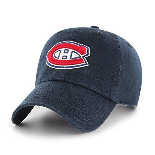 NHL Montreal Canadiens OTS Challenger Adjustable Hat, Navy, One - Montreal Hat Shop