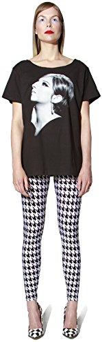 Premier Pattern - Elastic Wonder Houndstooth Pattern Print Premier Women's Spandex Leggings Made in USA