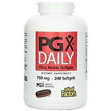 Natural Factors PGX Daily Ultra Matrix Softgels 750 Mg, 240 Softgels by Natural Factors