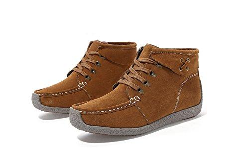 Shoes Work Winter Women's Boot Always Snow Outdoor Khaki Ankle Boots Pretty Snow zUxnwqHvR