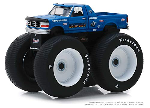 GreenLight 1/64 Kings of Crunch Series 4 - Bigfoot #5-1996 Ford F-250 Monster Truck 49040E by Greenlight
