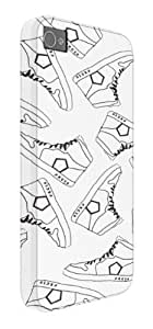 Fresh Trainer Pattern iPhone 5 / 5S protective case (image shows iPhone 4 example)