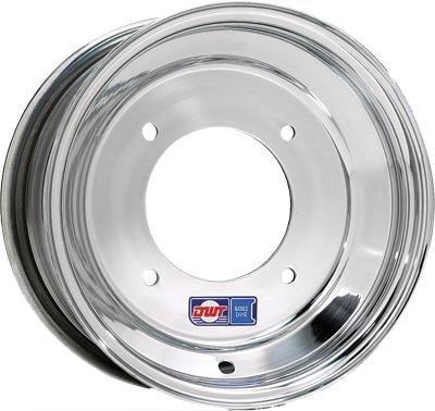 Douglas Wheel Tire 006-12 Blue Label Wheel - 10x5 - 3+2 Offset - 4/110 , Bolt Pattern: 4/110, Rim Offset: 3+2, Wheel Rim Size: 10x5, Color: Aluminum, Position: Front/Rear by Douglas Technologies (Image #1)
