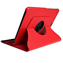 Jennyfly (SM-T820/SM-T825) Protective Case for Galaxy Tab S3 9.7,Multiple Viewing Angles Stand Cover for Samsung Galaxy Tab S3 9.7(SM-T820/SM-T825) - Red
