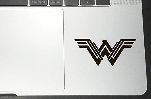 Wonder Window (WONDER WOMAN NEW MOVIE Vinyl Sticker Decals for Car bumper window macbook laptop iPhone Macbookpro (Black, 2