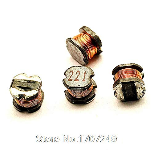 Maslin 100pcs/lot CD54 220UH Winding Type Power Inductors SMD Power Inductor M63 (Marking: 221)